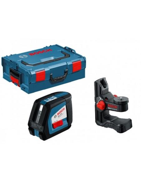 Построитель плоскостей Bosch GLL 2-50 + кейс L-BOXX + держатель , 0601063106