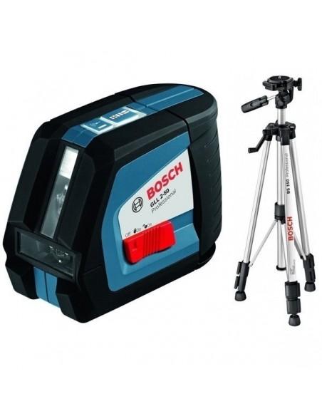 Построитель плоскостей Bosch GLL 2-50 + кейс L-BOXX + штатив + приемник лазера , 0601063107