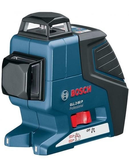 Построитель плоскостей Bosch GLL 2-80 P + кейс L-BOXX + штатив + приемник лазера , 0601063207