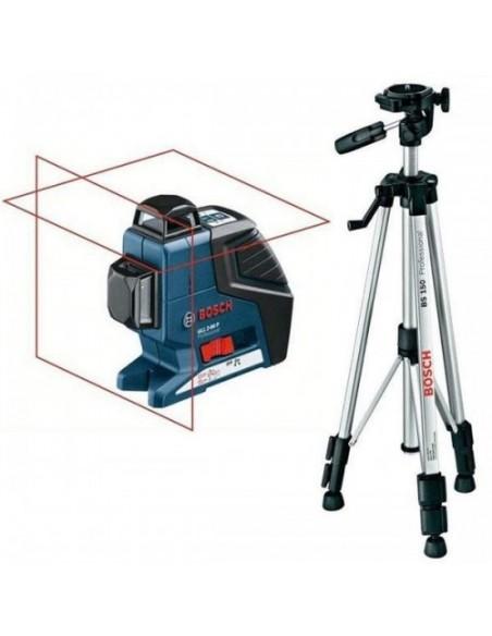 Построитель плоскостей Bosch GLL 2-80 P + штатив BS 150 , 0601063201