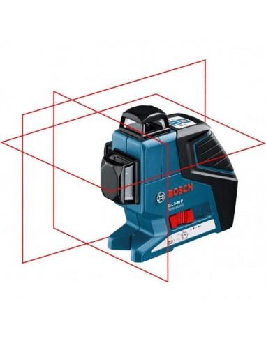 Построитель плоскостей Bosch GLL 3-80 P + кейс L-BOXX + штатив + приемник лазера , 0601063308
