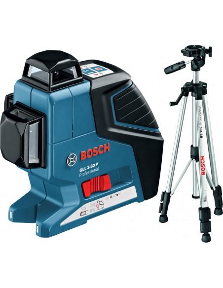 Построитель плоскостей Bosch GLL 3-80 P + штатив BS 150 , 0601063301