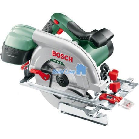 Пила Bosch PKS 66 A дисковая ручная , 0603502022