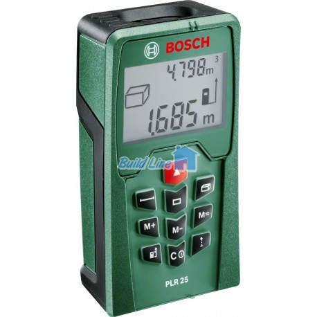 Лазерний далекомір Bosch PLR 25 , 0603016220