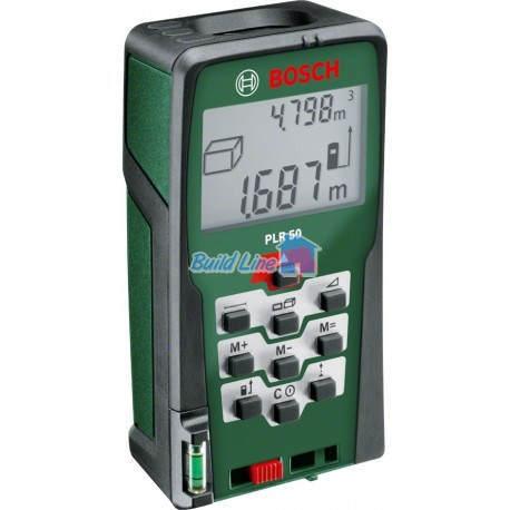 Лазерний далекомір Bosch PLR 50 , 0603016320