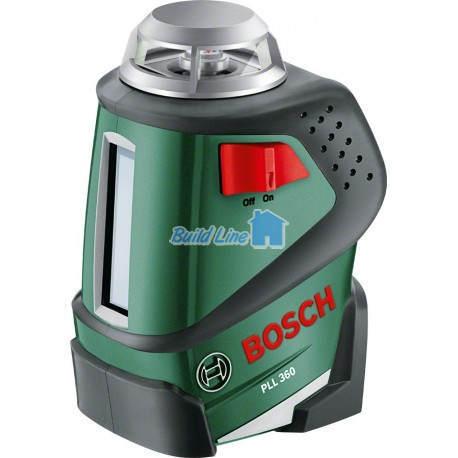 Лазерний нівелір Bosch PLL 360 Set + штатив , 0603663001