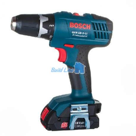 Шуруповерт Bosch GSR 18-2-LI аккумуляторный , 06019A4300