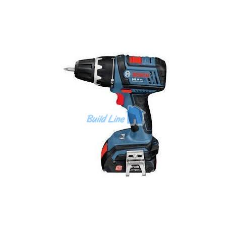 Шуруповерт Bosch GSR 18 V-LI аккумуляторный ударный , 0601866102