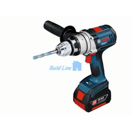 Шуруповерт Bosch GSB 18 VE-2-LI аккумуляторный ударный , 0601862300