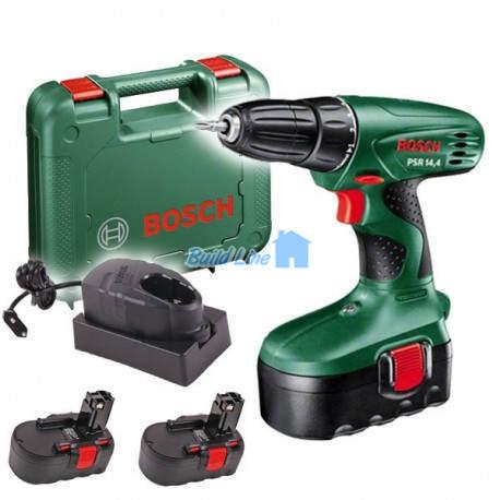 Шуруповерт Bosch PSR 14,4 (2 акк.) аккумуляторный , 0603955421
