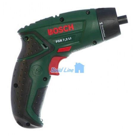 Шуруповерт Bosch PSR 7,2 LI аккумуляторный , 0603957720