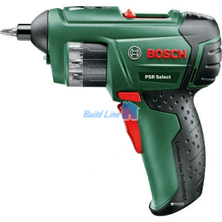 Шуруповерт Bosch PSR Select аккумуляторный , 0603977020