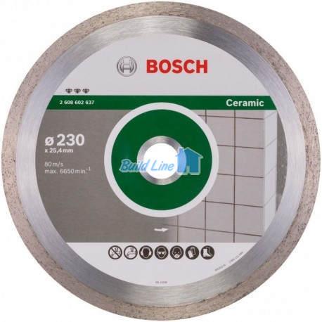Круг алмазный 230 x 25,4 мм Bosch Best for Ceramic , 2608602637