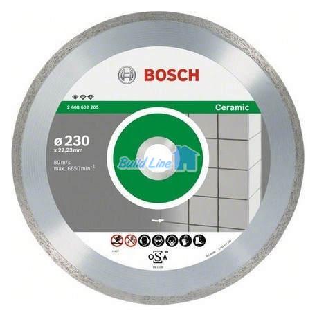 Круг алмазный 110 x 22,23 мм Bosch Professional for Ceramic , 2608602535