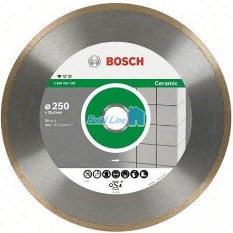 Круг алмазный 200 x 25,4 мм Bosch Professional for Ceramic , 2608602537