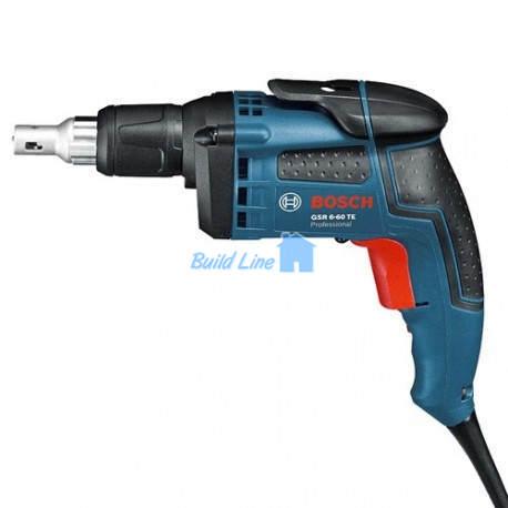 Шуруповерт Bosch GSR 6-60 TE сетевой , 0601445200