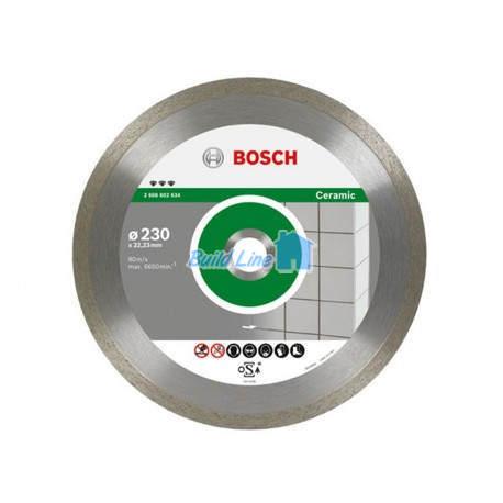 Круг алмазный 110 x 22,23 мм Bosch Best for Ceramic , 2608602629