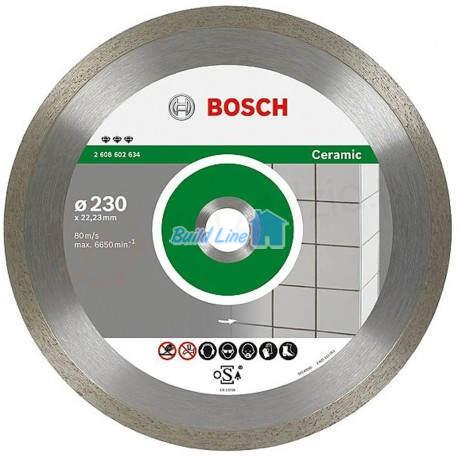 Круг алмазный 230 x 22,23 мм Bosch Best for Ceramic , 2608602634
