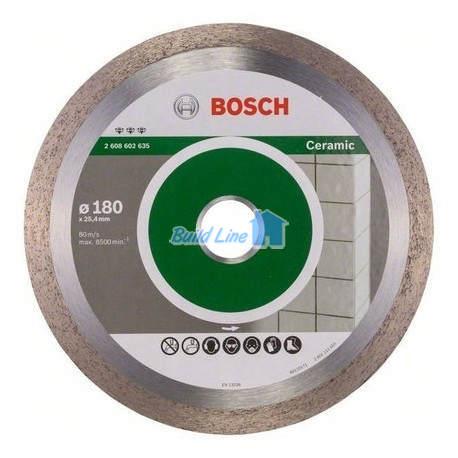 Круг алмазный 180 x 25,4 мм Bosch Best for Ceramic , 2608602635