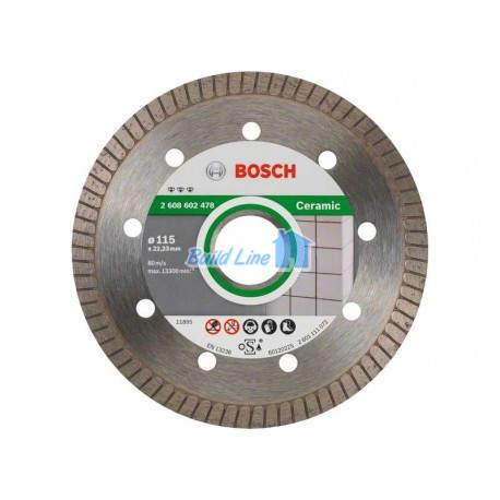 Круг алмазный 115 x 22,23 мм Bosch Best for Ceramic , 2608602478