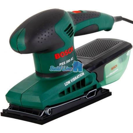 Шлифмашина Bosch PSS 200 AC вибро , 0603340120