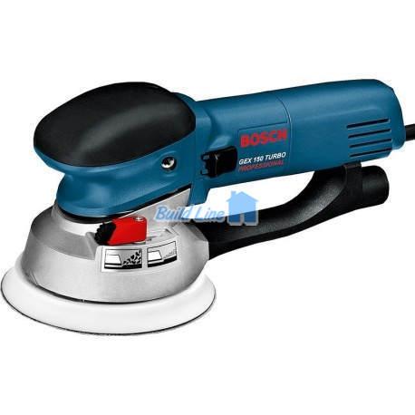 Шлифмашина Bosch GEX 150 Turbo эксцентриковая , 0601250788