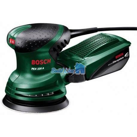 Шлифмашина Bosch PEX 220 A эксцентриковая , 0603378020