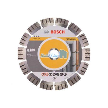 Круг алмазный 180 x 22,23 мм Bosch Best for Universal , 2608602664