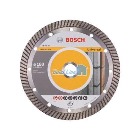 Круг алмазный 180 x 22,23 мм Bosch Best for Universal , 2608602674
