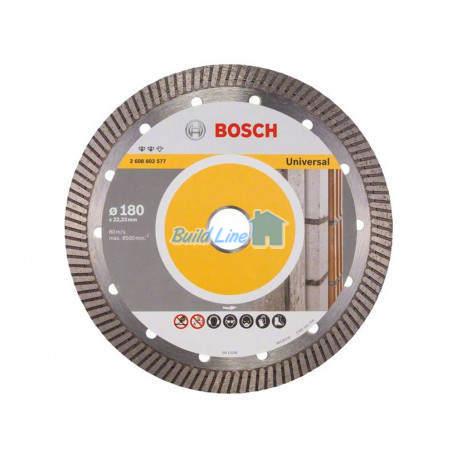 Круг алмазный 180 x 22,23 мм Bosch Expert for Universal , 2608602577