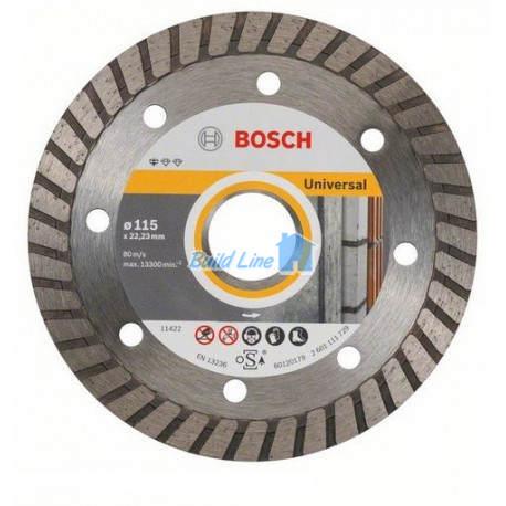 Круг алмазный 115 x 22,23 мм Bosch Professional for Universal , 2608602393