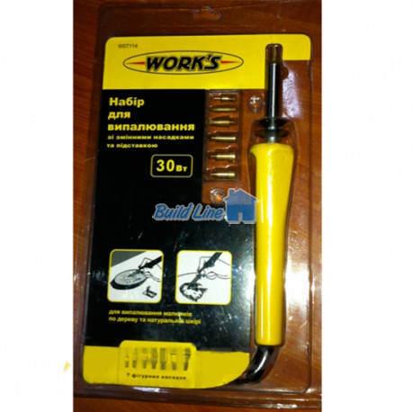 набор для выжигания WORKS W07114