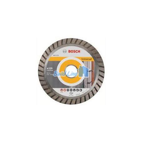 Круг алмазный 125 x 22,23 мм Bosch Professional for Universal , 2608602394