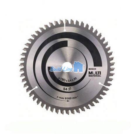 Multi Material для ручных циркулярных пил 190x20мм, 2608640508, Bosch