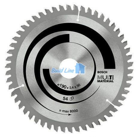 Multi Material для ручных циркулярных пил 210x30мм, 2608640511, Bosch