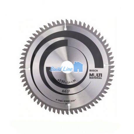 Multi Material для ручных циркулярных пил 230x30мм, 2608640513, Bosch