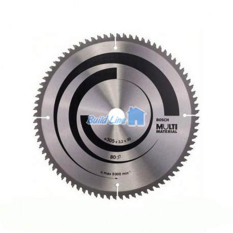 Multi Material для ручных циркулярных пил 305x30мм, 2608640452, Bosch