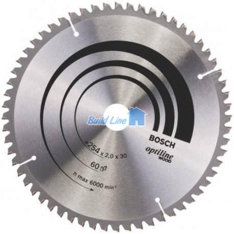 Пильный диск 254 x 30 мм 60 зубъев , Bosch 2608640436