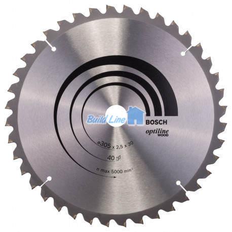 Пильный диск 305 x 30 мм 40 зубъев , Bosch 2608640440