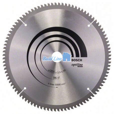 Пильный диск 305 x 30 мм 96 зубъев , Bosch 2608640442