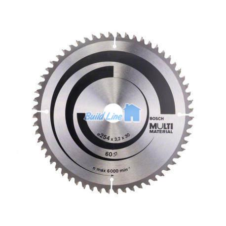 Пильный диск 254 x 30 мм 60 зубъев , Bosch 2608640449