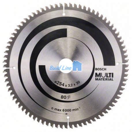 Пильный диск 254 x 30 мм 80 зубъев , Bosch 2608640450