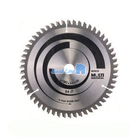Пильный диск 190 x 20 мм 54 зубъев , Bosch 2608640508