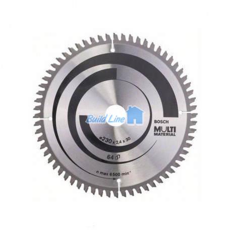 Пильный диск 230 x 30 мм 64 зубъев , Bosch 2608640513