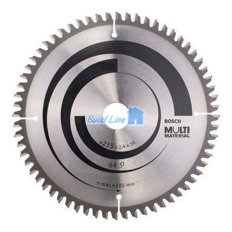 Пильный диск 235 x 30 мм 64 зубъев , Bosch 2608640514