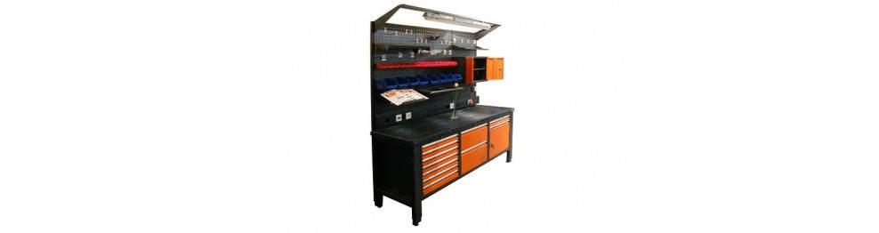 Шкафы, столы и стеллажи